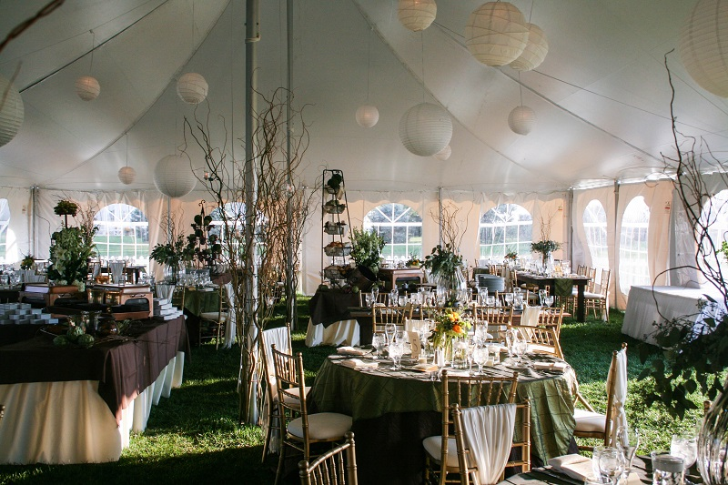 Tented Fall Wedding