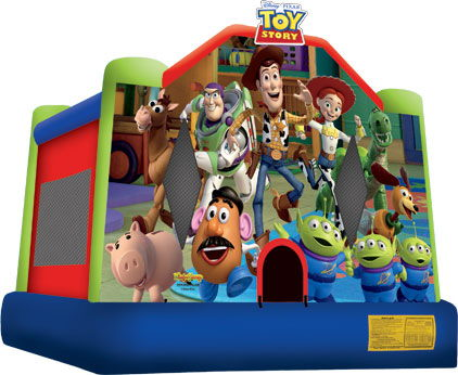 Where to find Bounce House Toy Story 3 in Bloomington