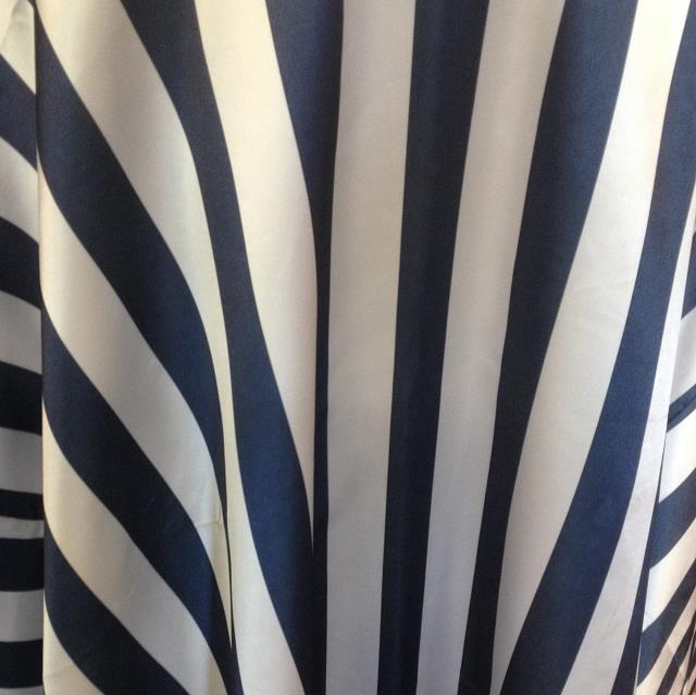 Where to find Satin Stripe Table Cover 90x132 in Bloomington