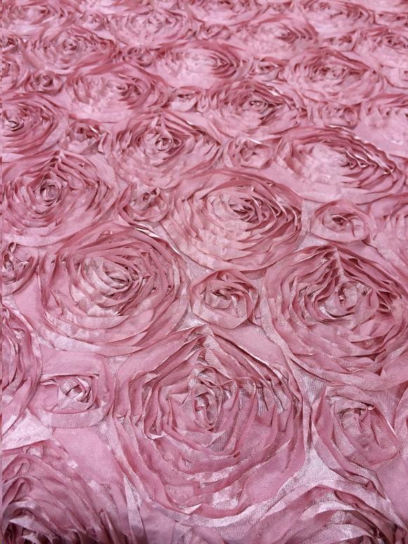 Where to find Satin Rosette Dusty Rose 72x72 in Bloomington