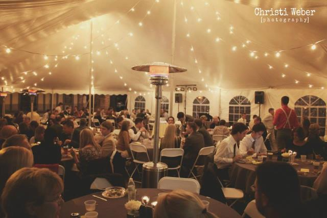 Where to find Wedding Cafe Tent Lighting in Bloomington