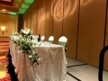 Rental store for Taffeta Sequin Silver on White 90x156 in Bloomington IL