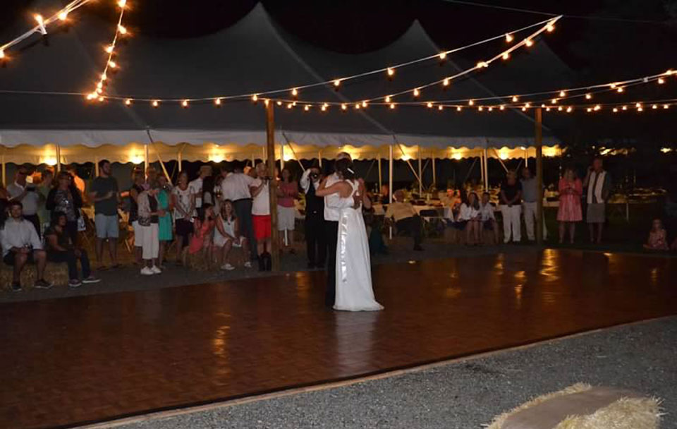 Dance floor rentals in Peoria, Champaign, Pontiac, Decatur, Bloomington IL and Lincoln Illinois